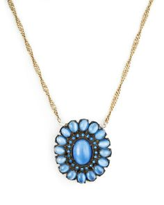 The Hailey II Necklace by JewelMint.com, $144.00. Beautiful color
