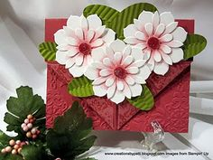 pocket card; variation on the flower pot card. good directions on link with measurements