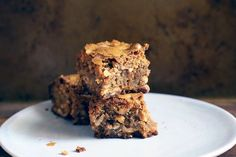 Toasted Cashew and Marzipan Blondies recipe on Food52