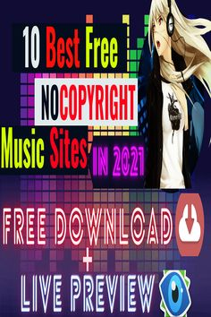 Youtube Video Tutorial : Top 10 Best Free Nocopyright Music Sites for 2O21, where you can preview & download for free music for your faceless youtube videos. #Freemusicforyoutube #youtuberoyaltyfreemusic #youtubenocpyrightmusic #BestFreemusicsites Free Music Sites, Free Music Download Sites, Music Websites, Sound Library, Music For You, Copyright Music, Royalty Free Music, You Youtube, Videos