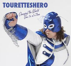 """Jessica Thom raises awareness about Tourette syndrome with her website featuring """"the world's first fully-fledged Tourettes superhero."""" She has the superpower to make me laugh."""