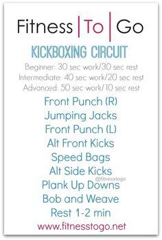 Kickboxing Circuit