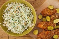 Ranch Cole  Slaw. This recipe originally appeared on the Rachael Ray Show. For more recipes and videos from the show visit RachaelRayShow.com. Ingredients 1/2 cup sour cream 1/2 cup buttermilk 1 cup super-fine sugar 3 tablespoons grated onion Juice of 1 lemon 2 tablespoons white vinegar 1 teaspoon celery salt 1 teaspoon black pepper 2 tablespoons each finely …