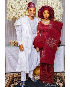 "7,290 Likes, 24 Comments - Africa's Top Wedding Website (@bellanaijaweddings) on Instagram: ""When Belle & Bae are serving #asoebibella goals : @tina.gold #TigerAdoresAbby ❤ Wedding planner:…"""
