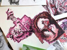 Comic book Studies, Lazzaro/ Edu on ArtStation at https://www.artstation.com/artwork/z5L06