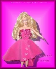Aurora's dream - Custom, Handmade Barbie Clothing
