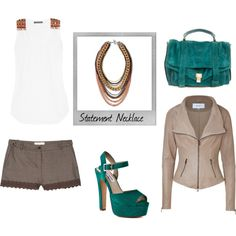 love the bag and the shorts! and the color combo is cute, and a little different!