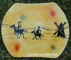 Cuadros artesanales, decoración paredes don Quijote de la Mancha - Quijoteworld, ideas para decorar