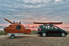 Easy to assemble, stunningly crafted, and compact, the Teardrop Campers is a must-have for every small vehicle owner!