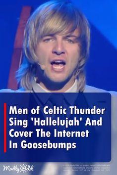 Gospel Music, Music Songs, Music Videos, Songs Everyone Knows, Singing Hallelujah, Celtic Thunder, Thunder Thunder, Celtic Music, Country Music Singers