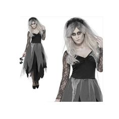 Halloween Zombie Ghost Bride Cosplay Specter Costume
