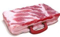 bacon brief case