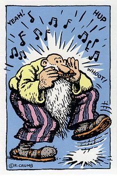r.crumb comics | Mr. Natural Postcard NO. 155 by R. Crumb: Comics & Underground Comix