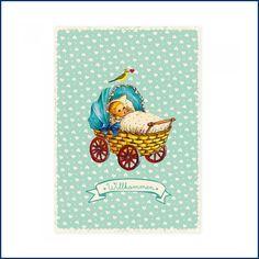 SÜÜÜÜÜÜÜÜSSSSSS! Hach, wir schmelzen dahin vor Entzückung! Neue Postkarte zur Geburt eines Jungen bei uns im Feingefühlshop! Auch für Mädchen in rosa erhältlich! http://feingefühl-shop.de/haus-und-hof/papier-und-buero/802/postkarte-babywagen-blau?c=25