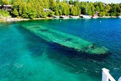 lake-huron-shipwreck-3  I go there every summer and I finally did some scuba diving of the shipwrecks this past summer!