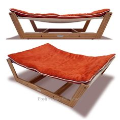 Posh Puppy Boutique is a shop for designer dog clothes and accessories -Bambu Hammock II Bed-  Tangerine Orange puppy Bed, Furniture,Blankets -Hammock , pet toys, collars, carriers, treats, stunning bowls, diaper, belly bands, id tags, harnesses, unique