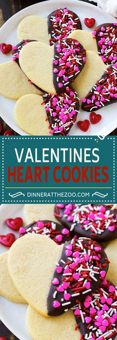 Heart Cookies Recipe | Heart Sugar Cookies | Valentine's Day Cookies | Heart Shaped Sugar Cookies | Valentine's Day Dessert