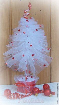 Купить Елочки из фатина Балерины - Новый Год, новогодний подарок, новогодний сувенир, новогодний декор
