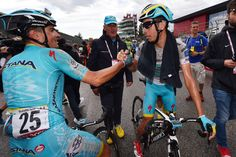 Davide Malacarne e Fabio Aru - stage 11