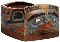 Tlingit beaver box. Kunstkamera collection. Before 1852. @cargocultist