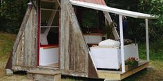 'Damn Simple' Tiny House Costs Just $1,200 To Build Yourself