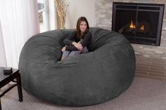 Chill Bag- Giant 8-Feet Bean Bag. Every home should have one.