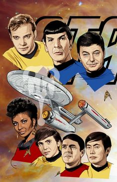 Star Trek by Tenkara Studios Star Trek Quotes, Star Trek Meme, Star Trek Tv, Star Wars, Star Trek Original Series, Star Trek Series, Star Trek Gifts, Star Trek Images, Star Trek Characters