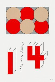 来年は、誰かの年賀状を作ってみたいです。 tadashiueda: New Year Card 2014 Postcard 2014 Japan Art Direction, Design Tadashi Ueda