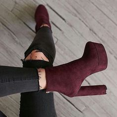 27 Ankle Boots For Work Boots Women Shoes for work Heeled Boots, Bootie Boots, Shoe Boots, Ankle Boots, Shoes Heels, Louboutin Shoes, Suede Booties, Vans Shoes, Women's Shoes