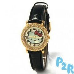 Relógio Analógico Hello Kitty