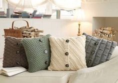 Sweater Pillows                                                                                                                                                     More