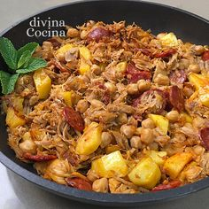 You searched for Ropa vieja - Divina Cocina Good Healthy Recipes, Real Food Recipes, Cooking Recipes, Yummy Food, Tapas Recipes, Cuban Recipes, Recipies, Best Spanish Food, Spanish Dishes