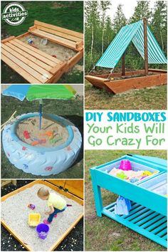 DIY SANDBOXES YOUR K