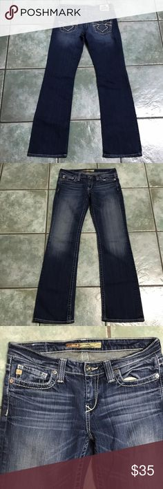 Women's big star jeans Big star women's jeans size 28L style Remy low rise fit Big Star Jeans