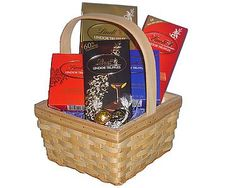 Lindt Lovers Chocolate Gift Basket - http://www.yourgourmetgifts.com/lindt-lovers-chocolate-gift-basket/