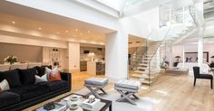 A London townhouse on Mayfair's Park Lane is up for rent for $5,172 per week and looks set to go to a super-rich student from the Middle East.