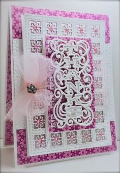 Cards by America: A Floral Thanks with Newly Released CE Craft Dies by Sue Wilson