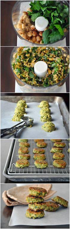 Homemade Falafel with Tahini Sauce | Bake a Bite