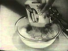 Vintage Old 1950's Jell-O Instant Pudding Commercial 1958