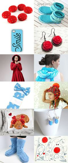 Red and Blue Valentines Gifts by Aggie on Etsy--Pinned with TreasuryPin.com Valentine Gifts, Red And Blue, Crochet Hats, Group, Board, Etsy, Knitting Hats, Gifts For Valentines Day, Planks
