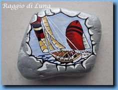 Galet peint by Raggio di Luna