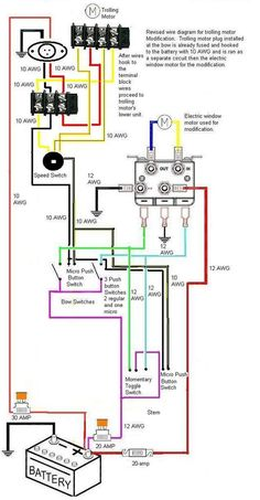 motorguide trolling motor wiring diagram trying to repair a friends rh pinterest com 12 Volt Boat Wiring Diagram OMC Trolling Motor Wiring Diagram
