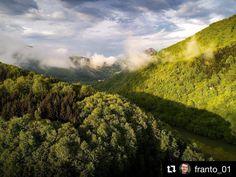 Ako z Nového Zélandu  parádička  #praveslovenske od @franto_01  Kraľovanská dolina. #slovensko #slovakia #kralovany #trees #forest #hill #hills #clouds #nature #landscape #trip #adventure #adventures #explore #river #valley #bluesky