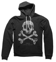 Unisex Inked of NYC Hooded Sweatshirt ...need this with a pair of ripped jeans & my chucks<3
