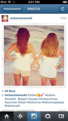Cute picture for sisters