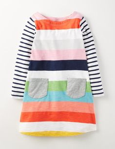 Mini Boden Fall 2016 Stripy Dress