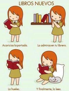 Amo el olor de los libros nuevos... cada uno tiene un aroma especial. ¿Ustedes no? -Isa <3