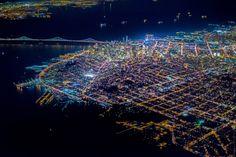 Vincent Laforet registra San Francisco a dois mil metros de altura