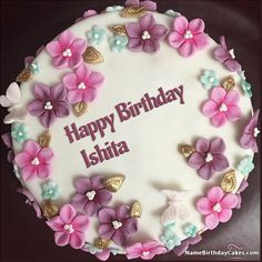 Happy Birthday Ishita - Video And Images