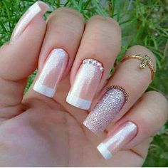 50 Beautiful Nail Art Designs & Ideas Nails have for long been a vital measurement of beauty and Love Nails, Pretty Nails, Fun Nails, Ambre Nails, Wedding Nails Design, Pretty Nail Designs, Cute Acrylic Nails, Stylish Nails, Manicure And Pedicure